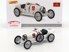 Bugatti Type 35 Grand Prix #9 Nation Colour Project Germany 1:18 CMC