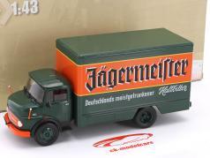 Mercedes-Benz L1113 ano de construção 1969 Jägermeister verde / laranja 1:43 DeAgostini