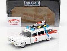 Cadillac Ecto-1 de o filme Ghostbusters 1984 branco 1:24 Jada Toys