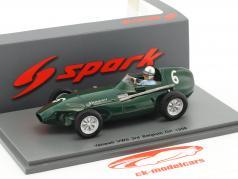 Stuart Lewis-Evans Vanwall VW5 #6 3. Belgien GP formel 1 1958 1:43 Spark