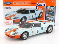 Ford GT Concept #6 year 2004 gulf blue / orange 1:12 MotorMax
