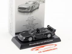 Mercedes-Benz CLK GTR Roadster black 1:64 Kyosho