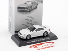 Mercedes-Benz SL 65 Black Series blanc 1:64 Kyosho