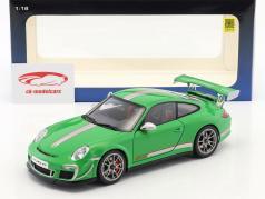 Porsche 911 (997) GT3 RS 4.0 Anno 2011 verde 1:18 AUTOart