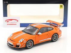 Porsche 911 (997) GT3 RS 4.0 Year 2011 Orange 1:18 AUTOart