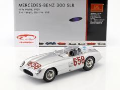 Mercedes-Benz 300 SLR #658 Juan-Manuel Fangio Mille Miglia 1955 1:18 CMC
