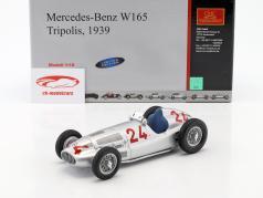 R. Carracciola Mercedes-Benz W165 #24 formula 1 Tripolis 1939 1:18 CMC