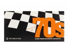 Classics of the 70s - Classic Porsche Motorsport cartes postales Set