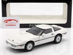 Chevrolet Corvette C4 années 1986 blanc / blanc 1:18 AutoArt