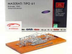 Maserati Tipo 61 Birdcage 築 1960 スペースフレーム 1:18 CMC