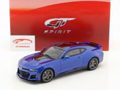 Chevrolet Camaro ZL1 ano de construção 2017 hyper azul 1:18 GT-Spirit