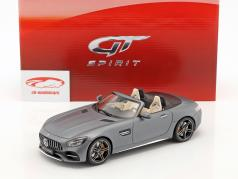 Mercedes-Benz AMG GT-C year 2017 designo magno selenite Gray 1:18 GT-Spirit