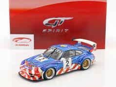 Porsche 911 (993) GT2 #2 2º French GT Championship 1997 Jarier, Lafon 1:18 GT-Spirit