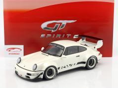 Porsche 911 (964) RWB perla blanco 1:12 GT-Spirit