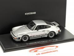 Porsche 911 Carrera 2.7 Année 1975 argent 1:43 Kyosho