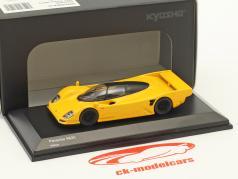 Porsche 962C geel 1:64 Kyosho