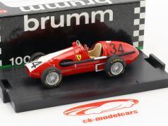 Kurt Adolff Ferrari 500 F2 #34 Deutschland GP Nürburgring Formel 1 1953 1:43 Brumm