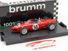 Giancarlo Baghetti Ferrari Dino 156 F1 #50 Winner French GP formula 1 1961 1:43 Brumm