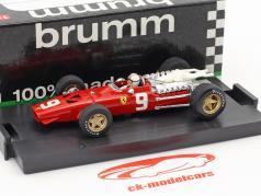 Chris Amon Ferrari 312 F1 #9 6th Holland GP formel 1 1968 1:43 Brumm