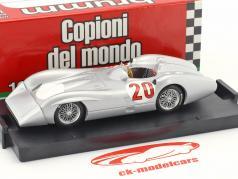 Stirling Moss Mercedes W196C #20 teste Monza fórmula 1 1955 1:43 Brumm