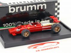 Chris Amon Ferrari 312 F1 prueba Modena fórmula 1 1969 1:43 Brumm
