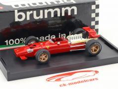 Chris Amon Ferrari 312 F1 prøve Modena formel 1 1969 1:43 Brumm