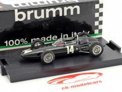 Graham Hill BRM P57 #14 Winner Italien GP World Champion Formel 1 1962 1:43 Brumm