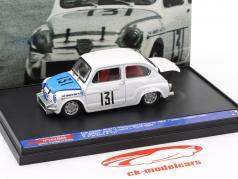 Fiat Abarth 850TC #131 sexto la clase 850cc Coppa L. Carri Monza 1965 Franzoni 1:43 Brumm