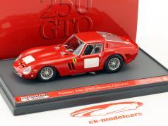 Ferrari 250 GTO ano de construção 1962 preço recorde $ 38.115.000 vermelho 1:43 Brumm
