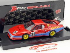 Ferrari 512 BB LM #98 8th 1000km Monza 1982 Del Buono, Govoni 1:43 Brumm