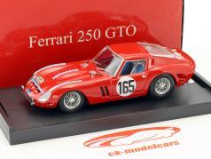 Ferrari 250 GTO #165 vencedor Tour de France 1963 Guichet, Behra 1:43 Brumm