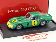 Ferrari 250 GTO #8 tercero GP Angola 1962 David Piper 1:43 Brumm