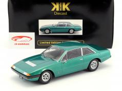 Ferrari 365 GT4 2+2 Baujahr 1972 grün metallic 1:18 KK-Scale
