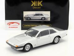 Ferrari 365 GT4 2+2 Baujahr 1972 silber 1:18 KK-Scale