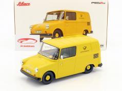 Volkswagen VW Fridolin tysk Federal indlæg gul 1:18 Schuco