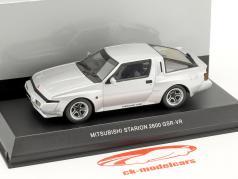 Mitsubishi Starion 2600 GSR-VR Bouwjaar 1988 zilver 1:43 Kyosho
