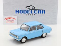 Saporoshez SAS 966 lichtblauw 1:18 Model Car Group