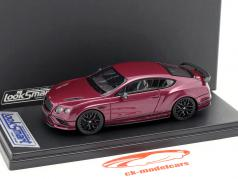 Bentley Continental Supersports roxo metálico 1:43 LookSmart