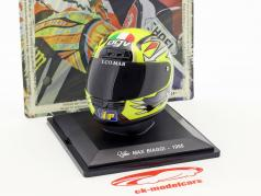 Max Biaggi campeón del mundo 250 cm³ 1995 casco 1:5 Altaya