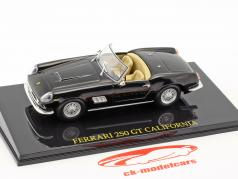 Ferrari 250 GT California black with showcase 1:43 Altaya