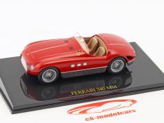 Ferrari 340 MM red with showcase 1:43 Altaya