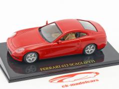 Ferrari 612 Scaglietti red with showcase 1:43 Altaya