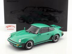 Porsche 911 (930) Turbo ano de construção 1977 verde 1:12 Minichamps