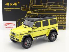 Mercedes-Benz G-Klasse 4x4² geel 1:18 Almost Real