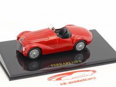 Ferrari 125S red with showcase 1:43 Altaya