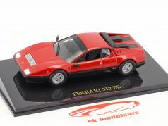 Ferrari 512 BB red with showcase 1:43 Altaya
