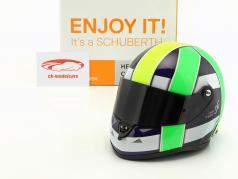 Lucas di Grassi Weltmeister FIA-Formel E 2017 Helm 1:2 Schuberth