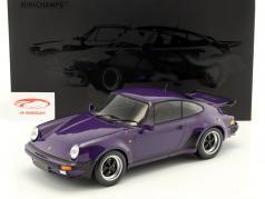 Porsche 911 (930) Turbo ano de construção 1977 roxo 1:12 Minichamps