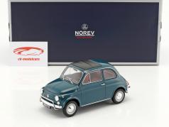 Fiat 500 L año de construcción 1968 oscuro turquesa 1:18 Norev
