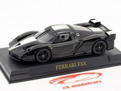 Ferrari FXX Baujahr 2005-2006 schwarz / weiß 1:43 Altaya